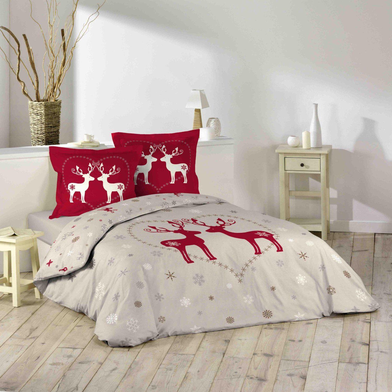 parure de couette 100 coton 240x220 elan cuisine maison envies noel deco. Black Bedroom Furniture Sets. Home Design Ideas