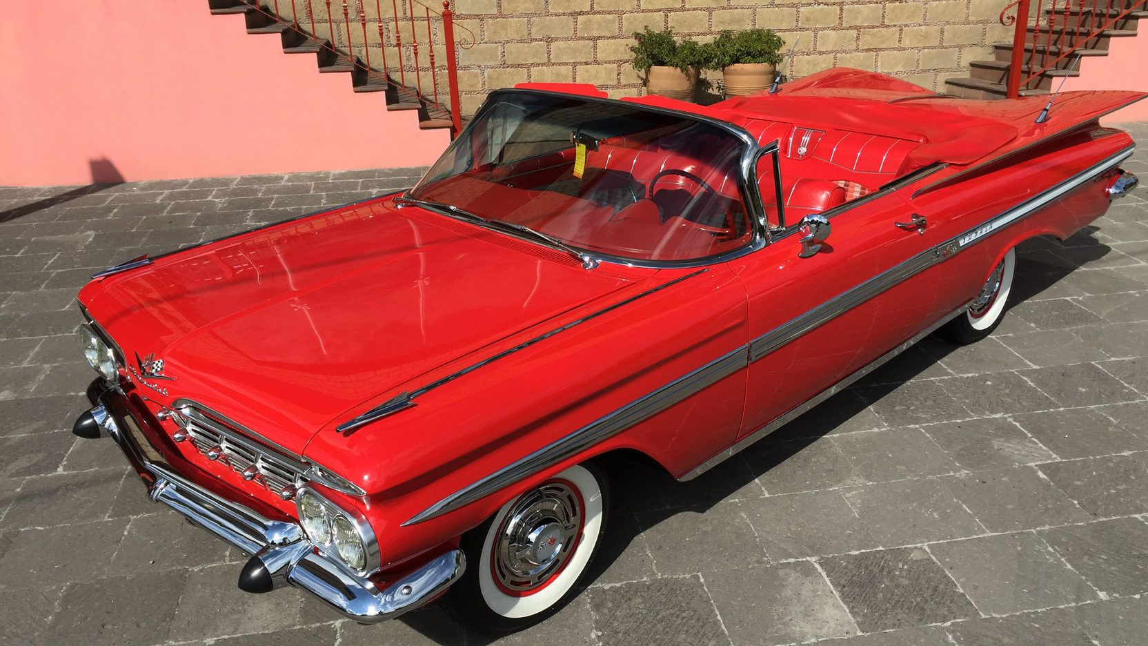 1959 Chevrolet Impala Convertible presented as Lot S151 at Houston ...