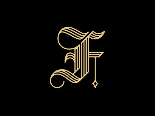 Dribbblepopular Lettering Design Letter F Graphic Design Blog