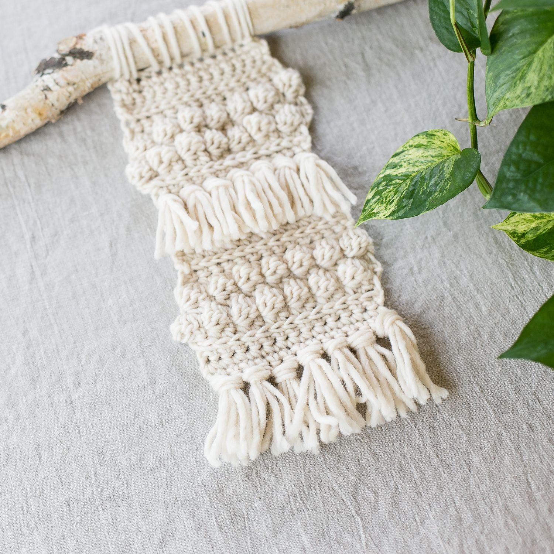 Crochet a Boho Wall Hanging | Tica Crochet | Pinterest | Boho wall ...