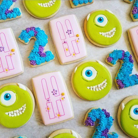 Monsters Inc. Cookies