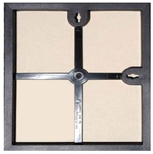 Mcs Format Frame 12x12 Black Frame Picture Frames Clear Glass