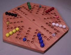 Marble Game With Wooden Board Wooden Board Games  Wood Game Boardspuzzledgameboard