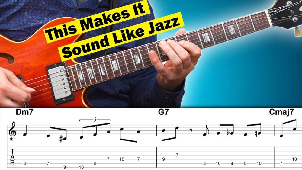 How To Sound like Jazz with 3 Easy Bebop Licks YouTube