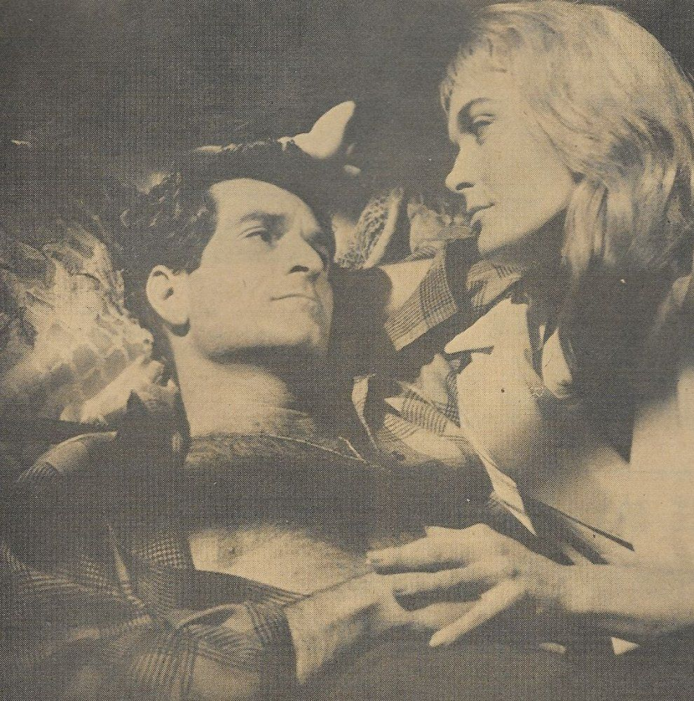 Shirley Eaton at Brians Drive-In Theater