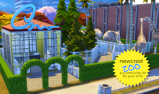 Sims 4 CC's - The Best: NEWCREST ZOO by hab's simblr