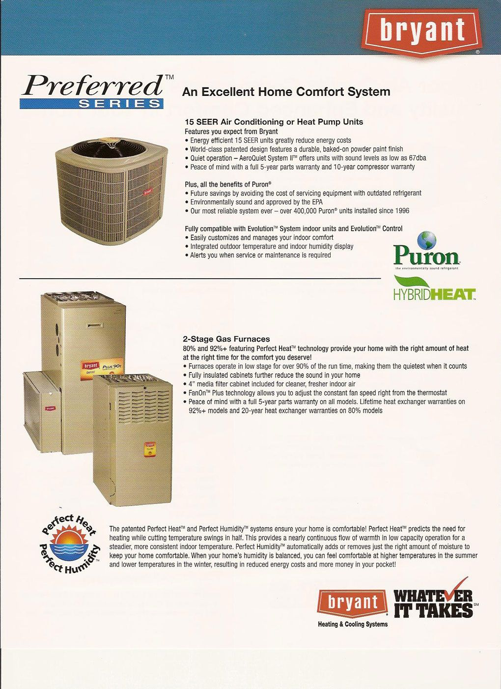 Better Bryant Products Heat Pump Unit Residential Hvac