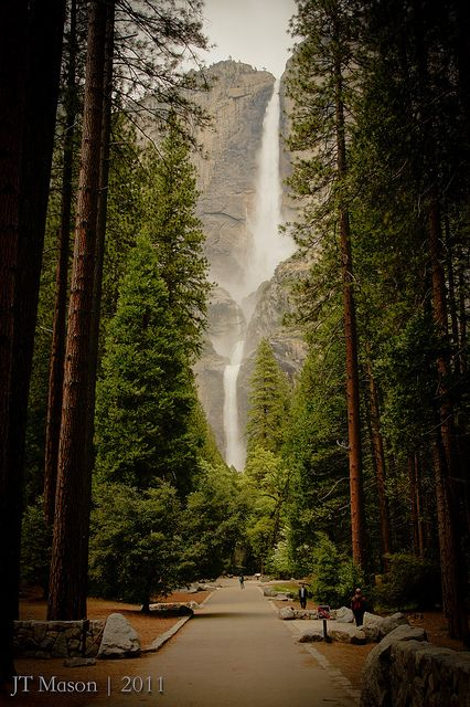Yosemite Falls We Have Been Here The Most Beautiful Park Ive Ever