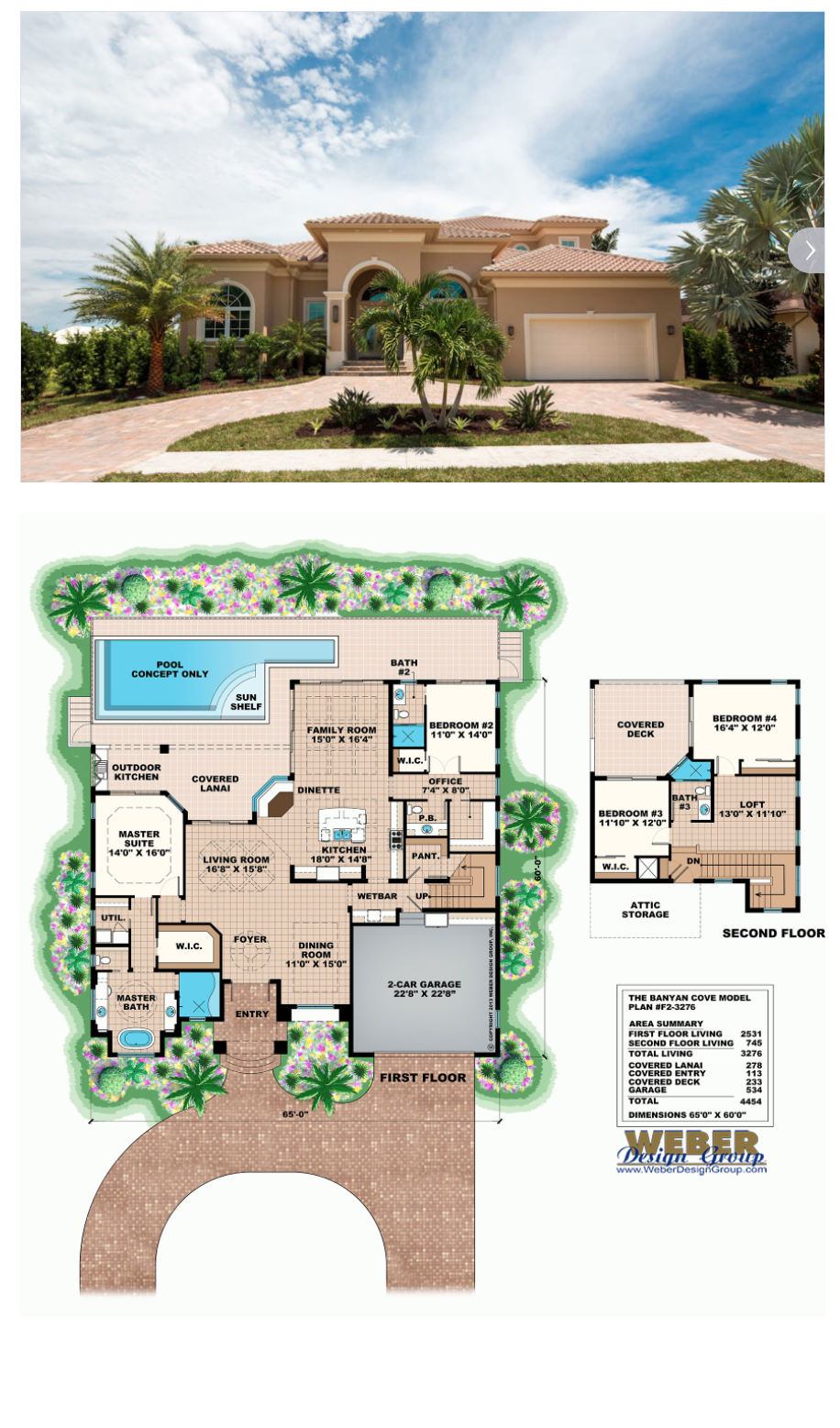 Mediterranean House Plan 2 Story Modern Beach Home Floor Plan Two Story House Plans Beach House Plans Mediterranean House Plans