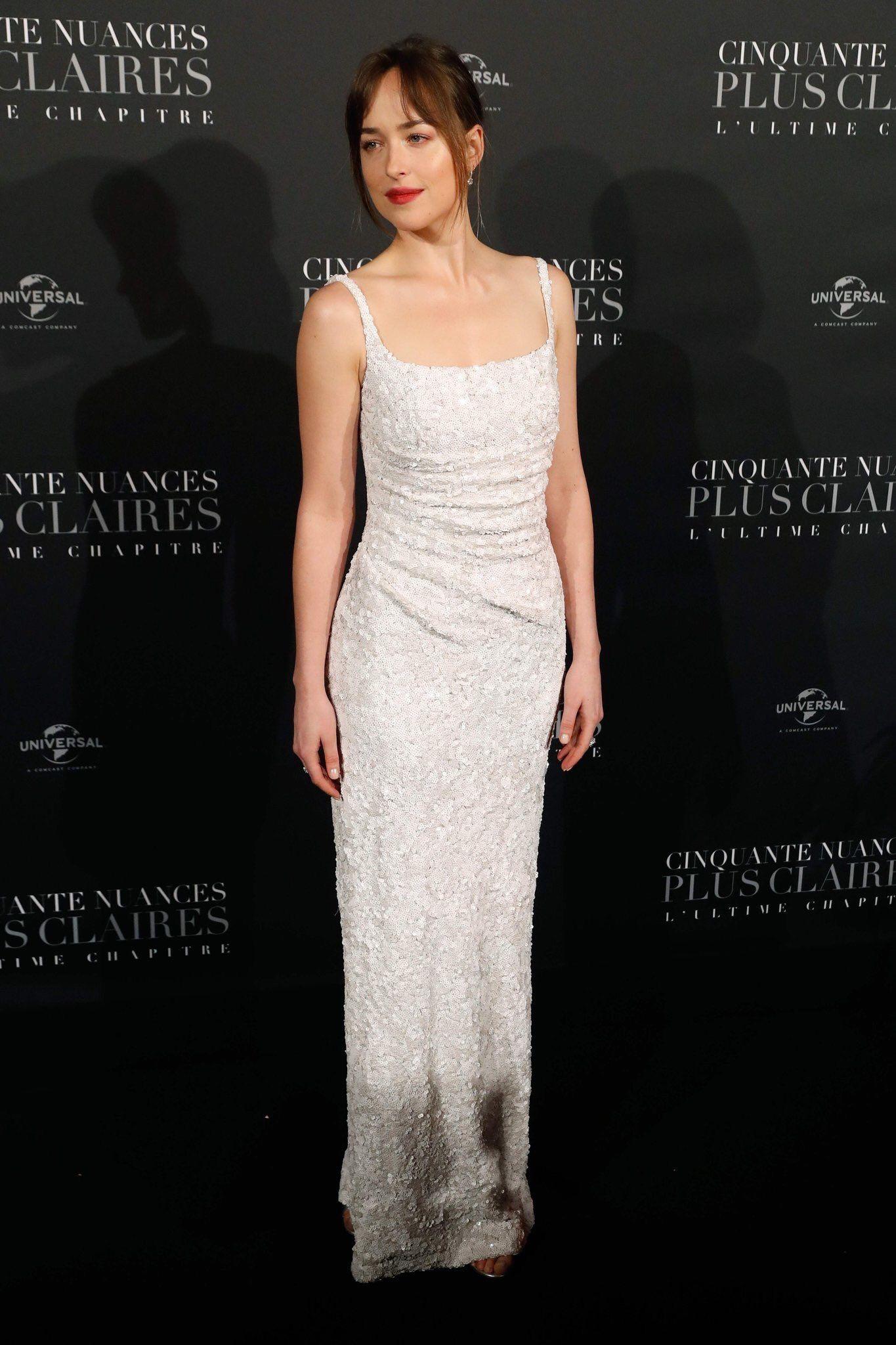 Pin Em Dress White