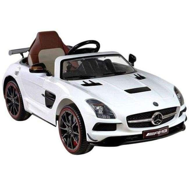 Best Ride On Cars Mercedes SLS AMG Black Series 12V- White