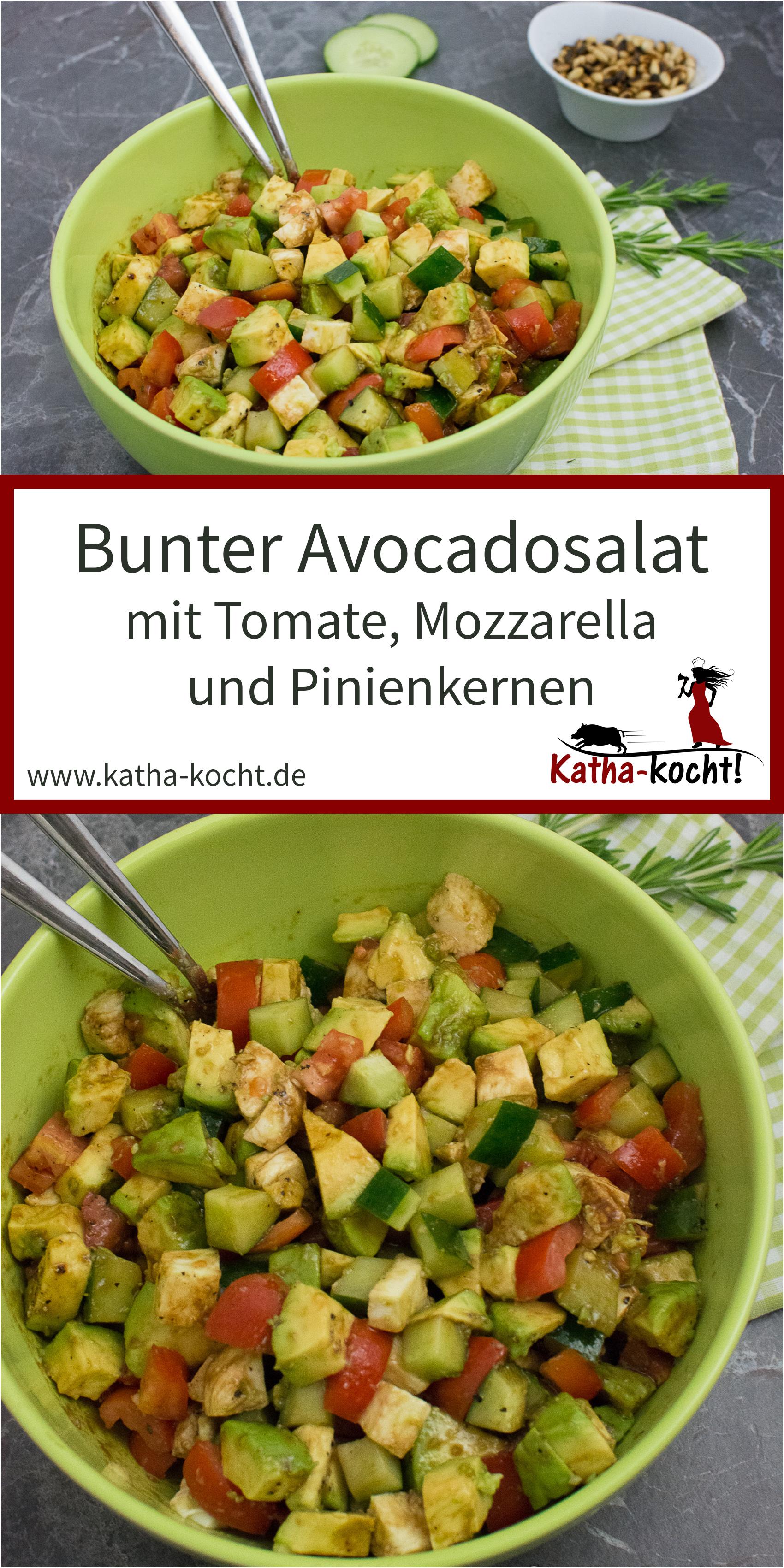 Bunter Avocado Salat #healthycrockpotchickenrecipes