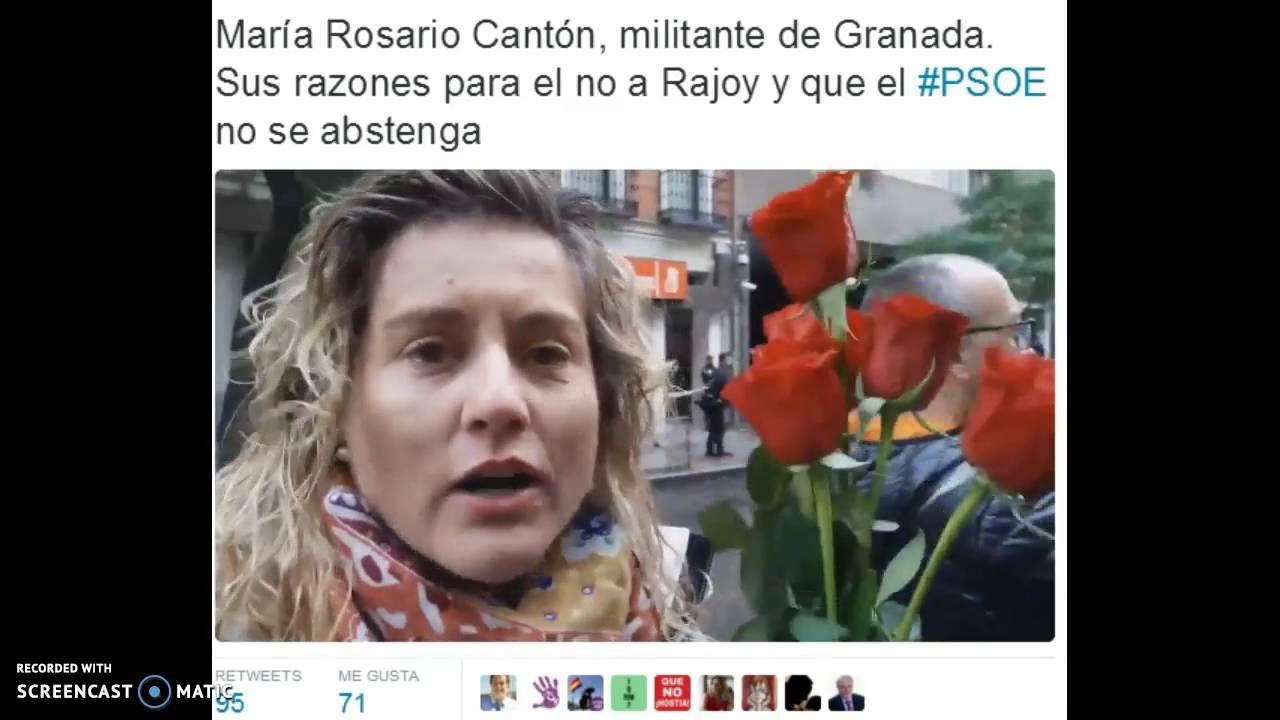 #LaRevoluciónDeLasRosas Militantes En Ferraz