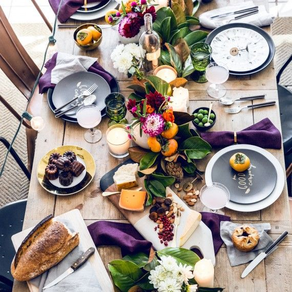 A Stunningly Simple Fall Tablescape Idea