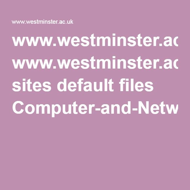 www.westminster.ac.uk sites default files Computer-and-Network-Engineering_0.pdf