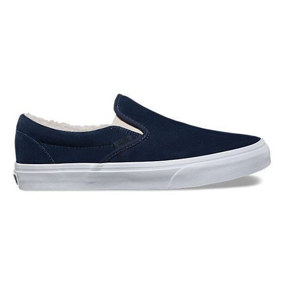 Suede Fleece Slip-On | Shop Shoes At