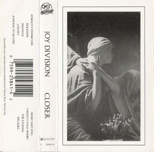 Joy Division Closer La La La Joy Division Music Flyer Division