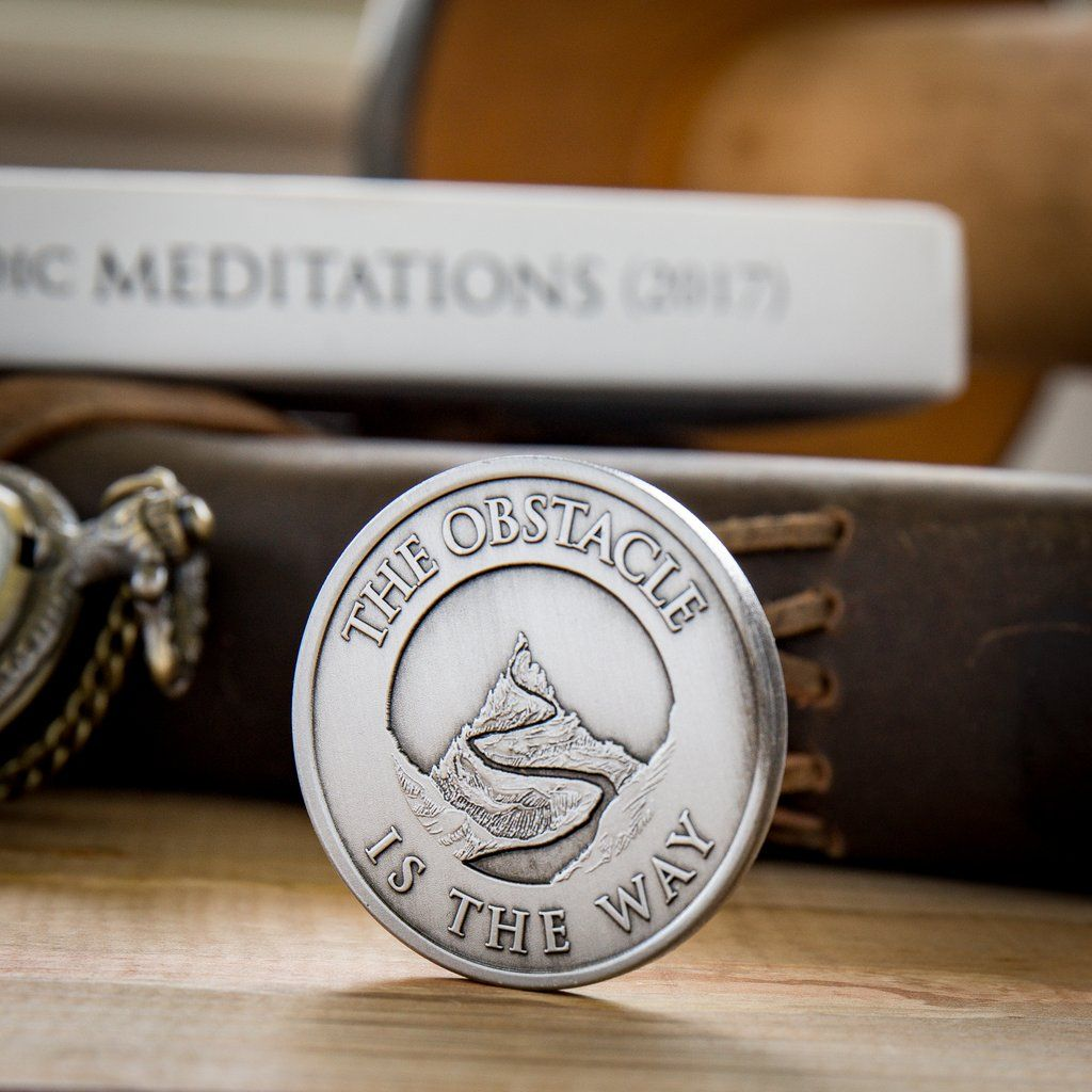 The Obstacle Is The Way Medallion Gift Wish List Pinterest