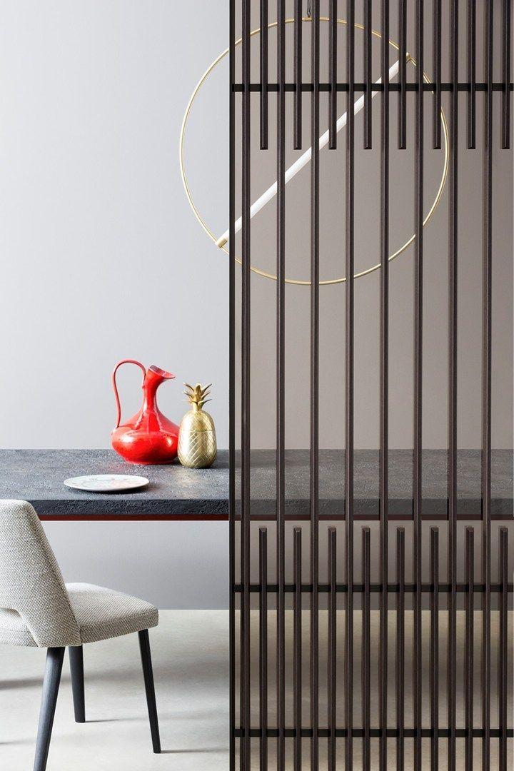 Koan. La luce del vetro, il calore del legno Il nuovo sistema Lualdi firmato Kokai Studio