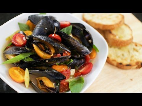 Mussels with thai herbs hot thai kitchen cuisine forumfinder Image collections