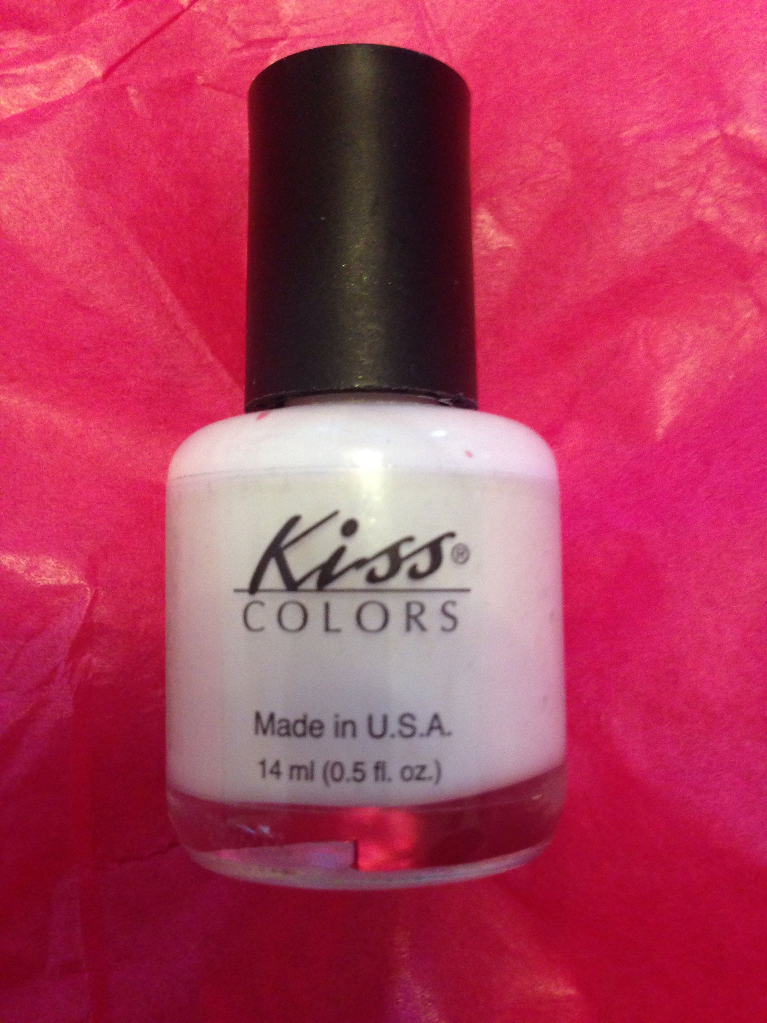 Kiss colors nail polish in white | SWAP BOARD :) | Pinterest | Color ...