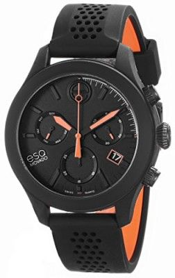 7002648f2a9 Relógio ESQ Movado Men s 07301470 One Analog Display Swiss Quartz Black  Watch  Relógio  ESQ Movado
