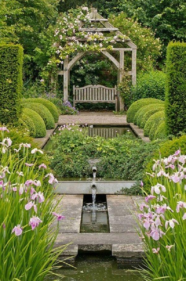 100 Gartengestaltung Bilder Und Inspiriеrende Ideen Für Ihren ... Ein Romantischer Garten