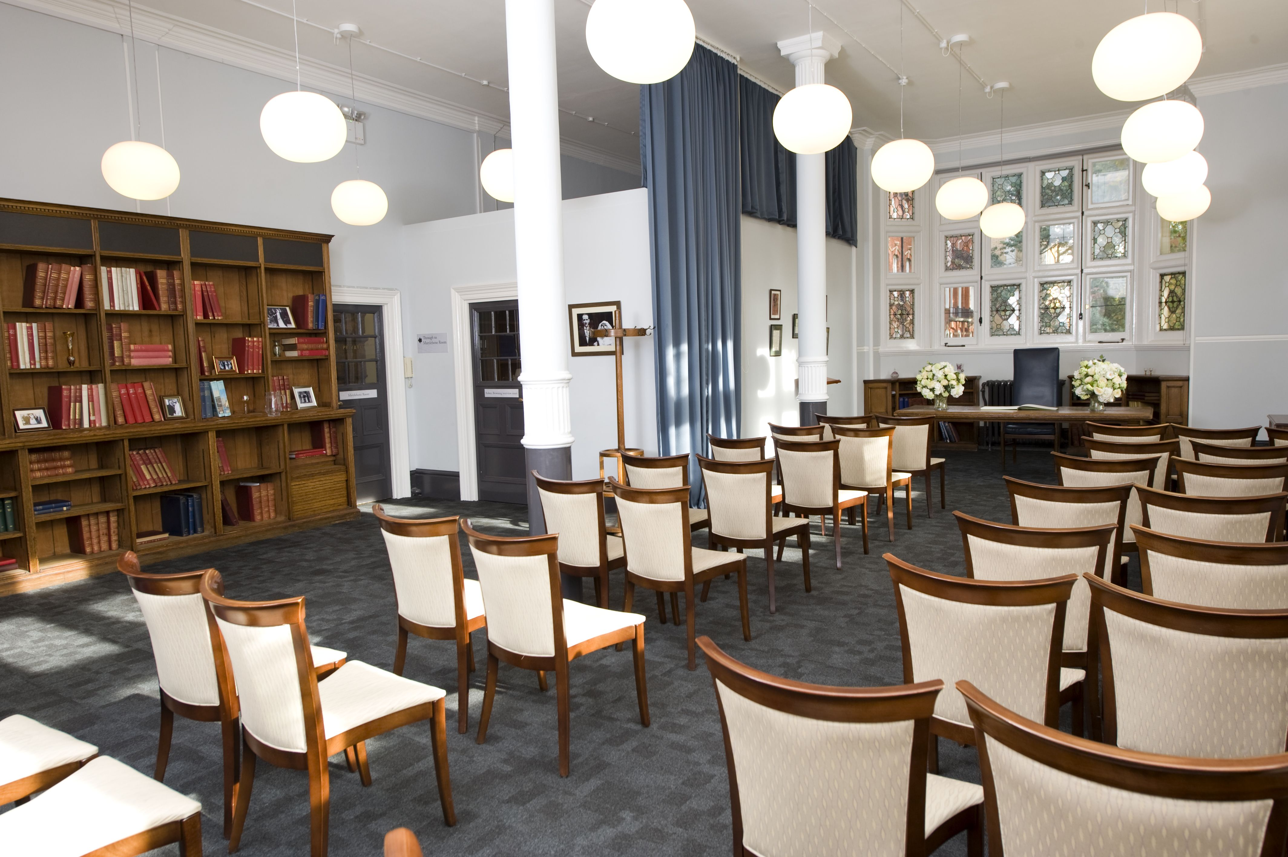 The Mayfair Room at Mayfair Library