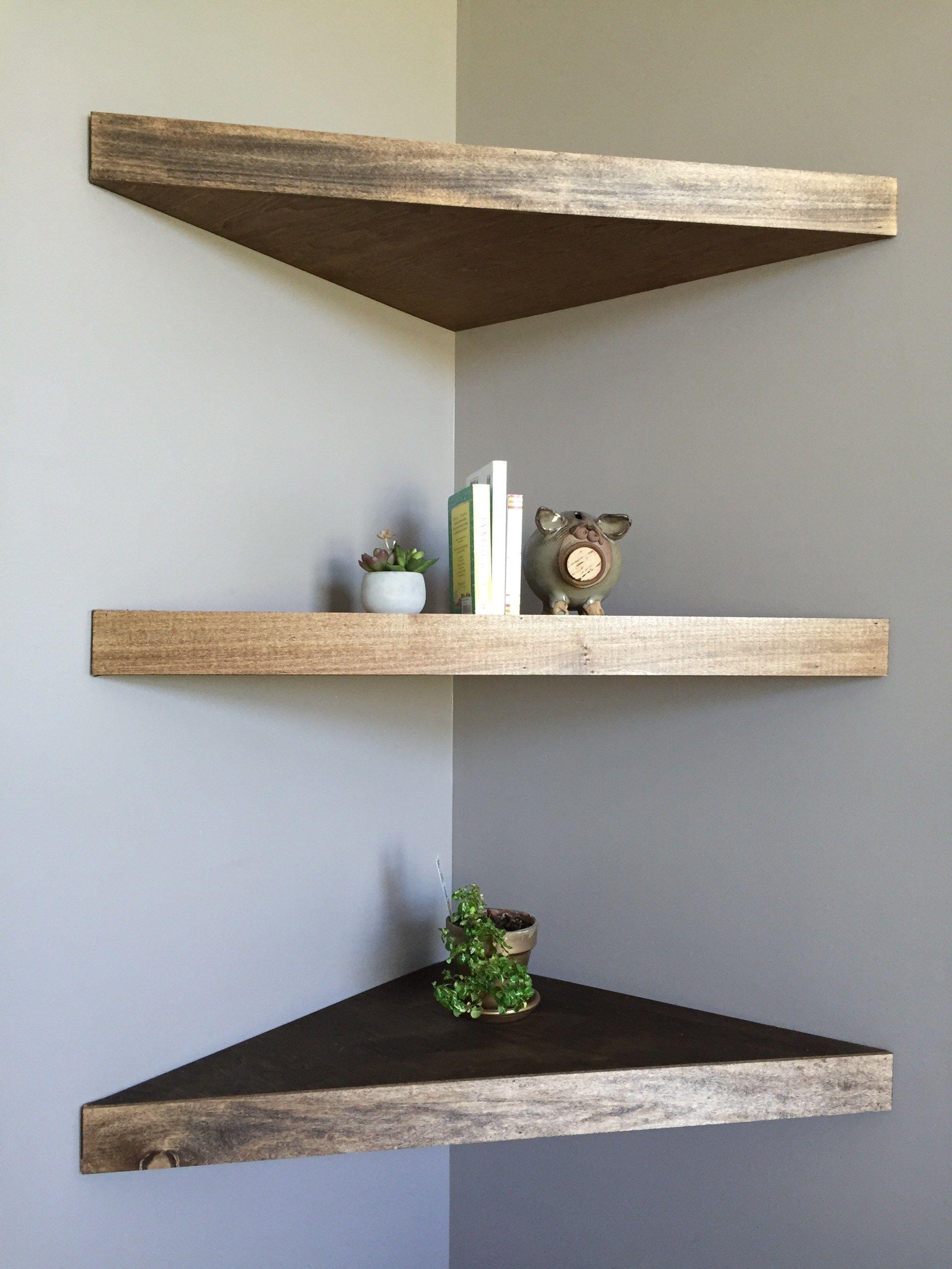 Corner Shelves Floating Diy