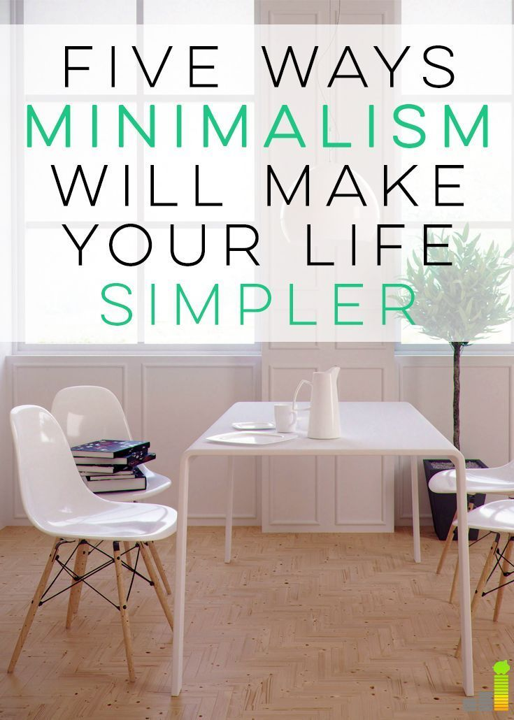 Minimalism is awesome! I've been working at becoming more of a minimalist and I've definitely experienced these benefits! Especially #2!
