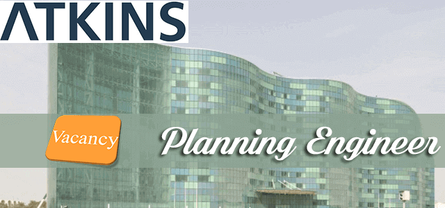 Planning Engineer Jobs In Atkins Middle East In Oman Visit