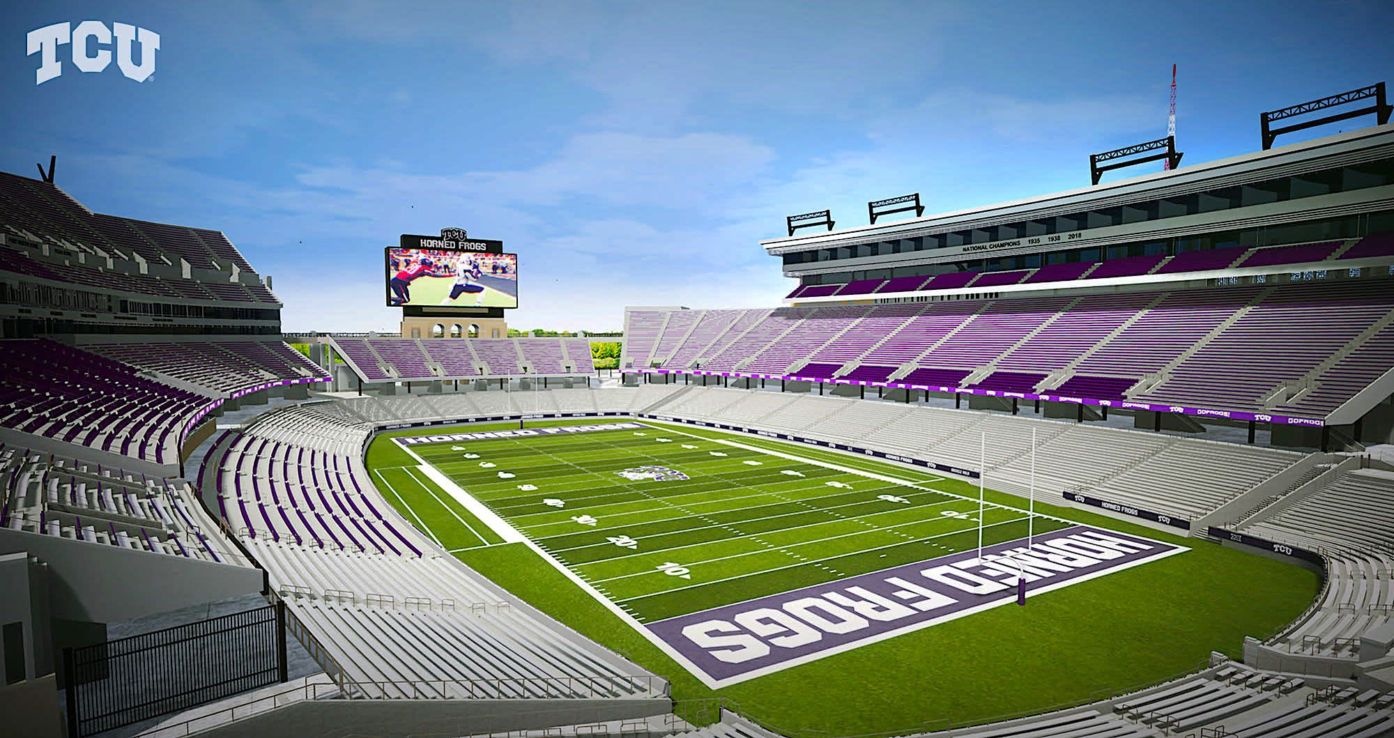 Expansion Stadium, Football stadiums, Renovations