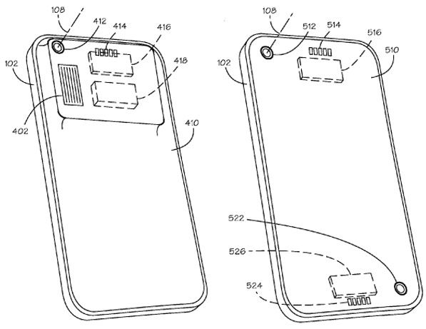 Apple files for a patent on an iPhone with swappable