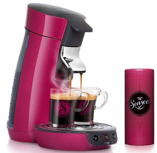 philips hd7825 49 cafeti re senseo dosette viva caf rose framboise 2 tasses boite. Black Bedroom Furniture Sets. Home Design Ideas