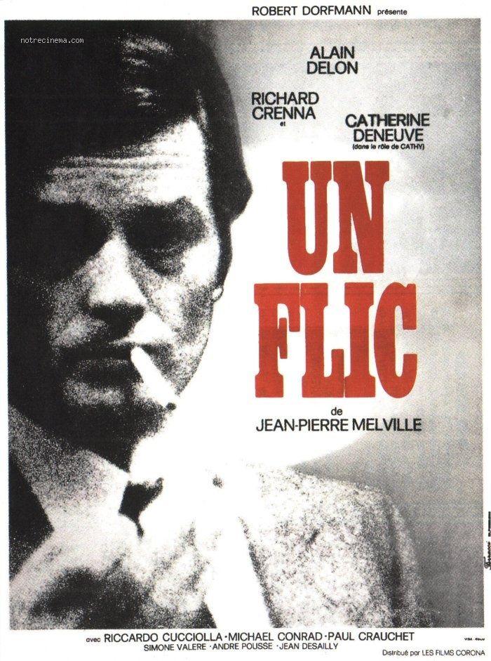 Un flic - 23-03-1988 | French cinema, Alain delon, Cinema posters