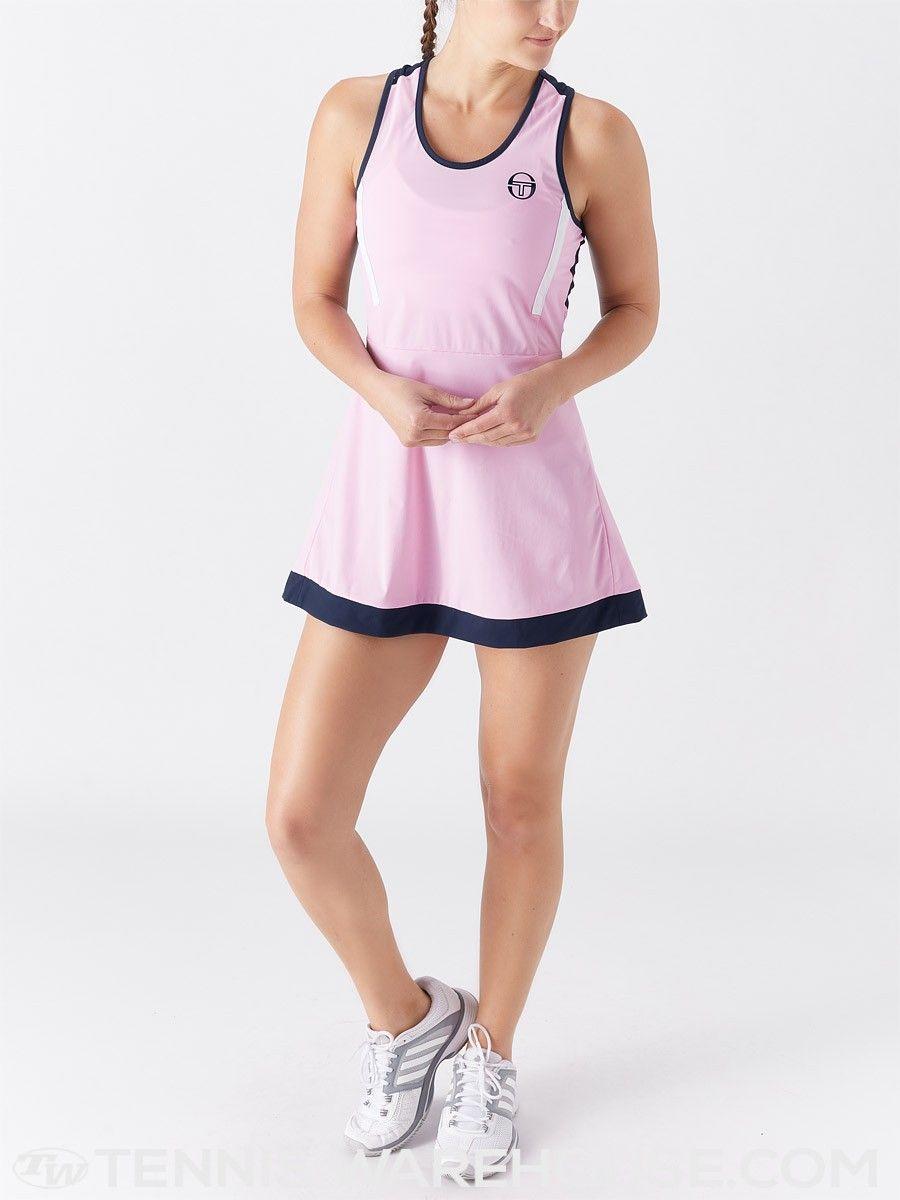 Sergio Tacchini Women S Curvature Dress Women Tennis Wear Gym Shorts Womens