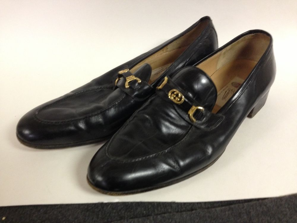 used gucci loafers mens - 54% OFF
