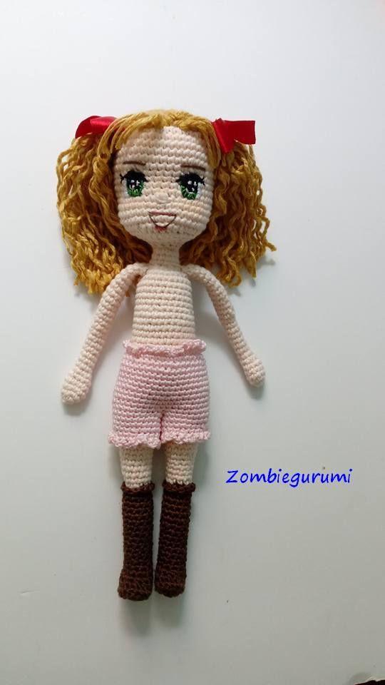 Amigurumis. Muñecos de colección tejidos a crochet. Personajes ...
