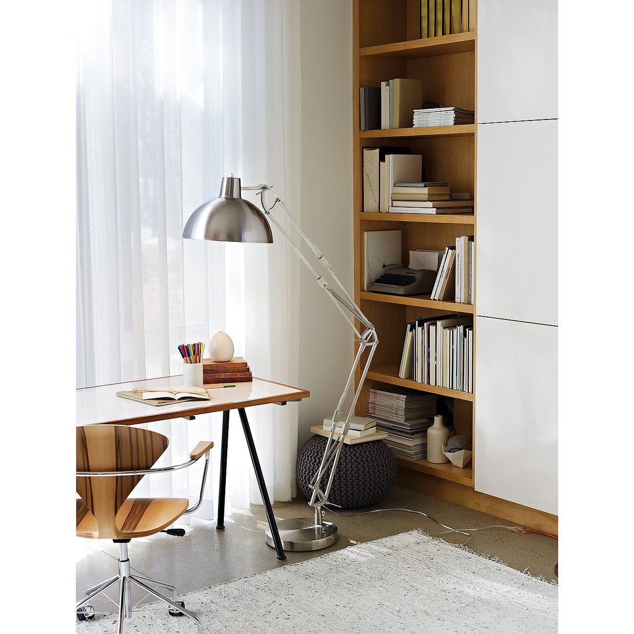 Amazing Jumbo Architect Floor Lamp (Includes CFL Bulb) On My Wish List