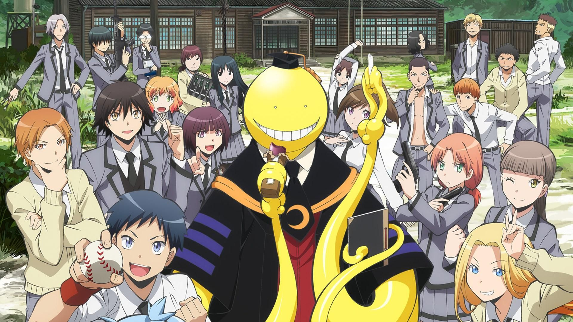 77 Assassination Classroom Aesthetic Background Trong 2020 Hinh ảnh