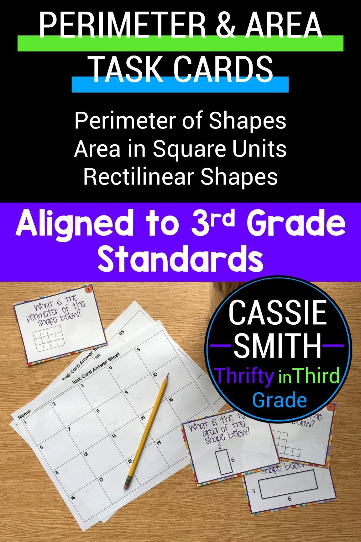4th Grade Guided Math Unit 14 Perimeter And Area