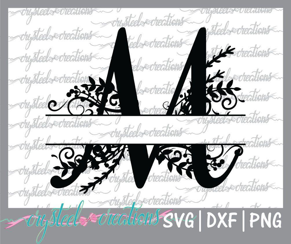 Letter M Split Monogram Svg Png Dxf Regal Split Alphabet Etsy In 2020 Monogram Svg Monogram Fonts Monogram