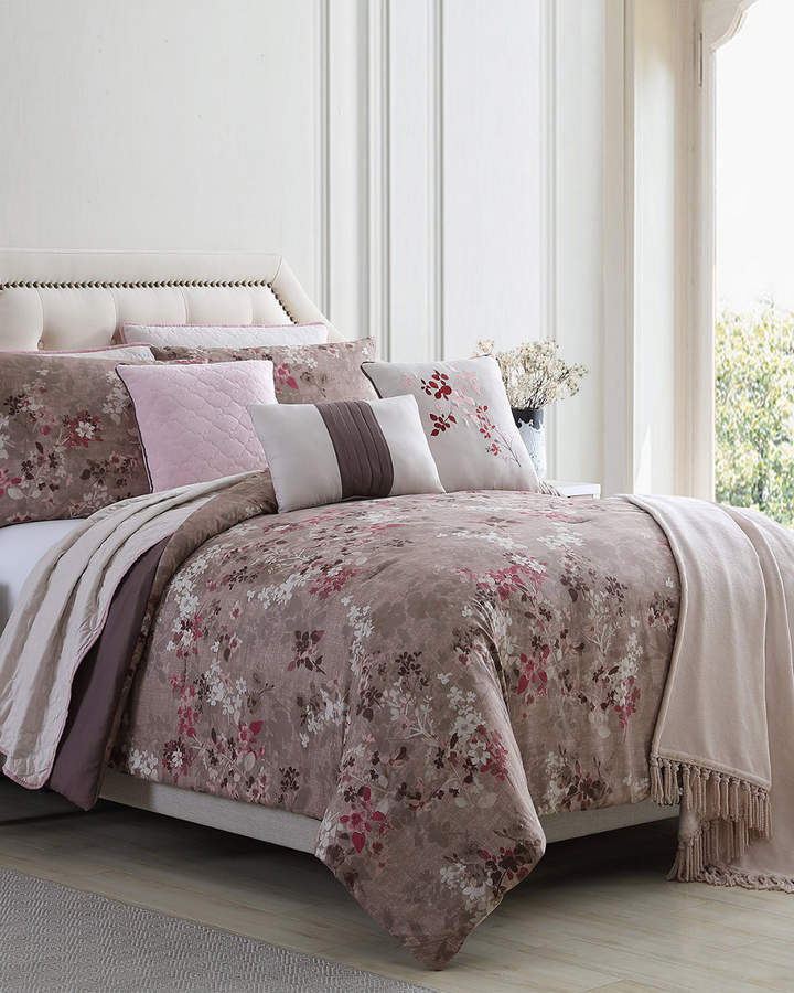 Colonial Home 10pc Comforter Coverlet Set Comforters King
