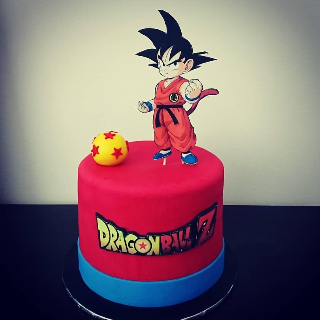 Ragon Ball Z Cake Dragonballz Dragonball Goku Anime Baking