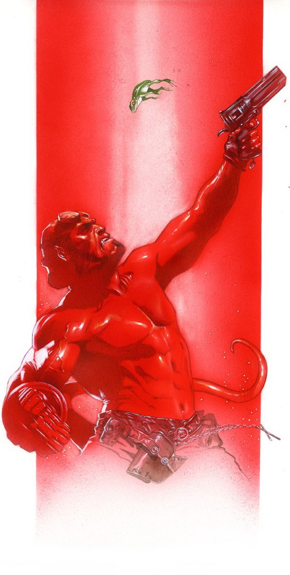 Hellboy    AA2   Comic art, Comic books art, Comics