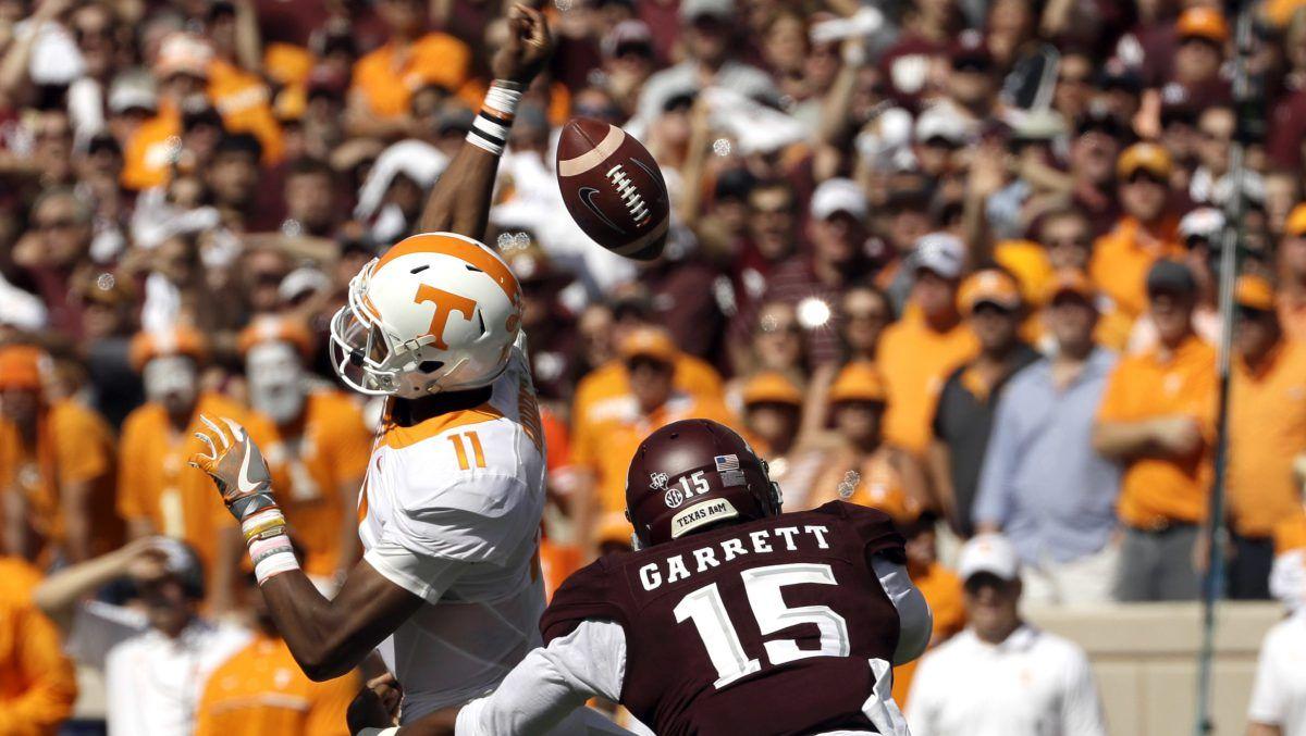 Seven TOs doom No. 9 Tennessee's comeback effort in loss to No. 8 Texas A&M – CollegeFootballTalk