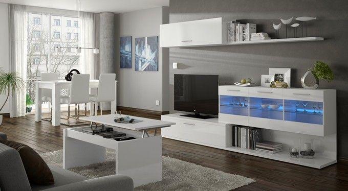 Conjunto De Muebles Para El Salon De 260 Cm Con Sistema De
