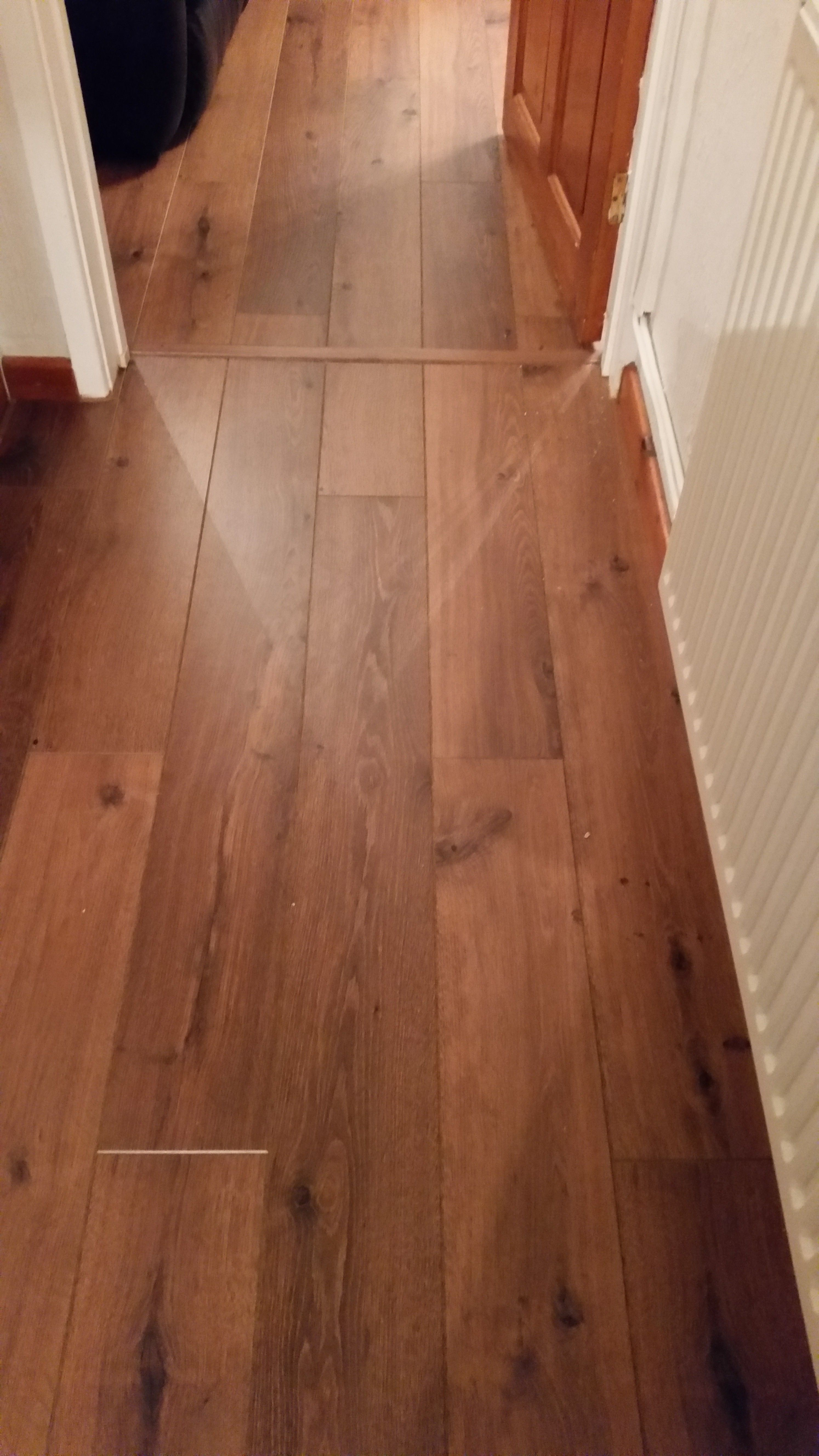 Vintage Oak Quick Step laminate flooring installation