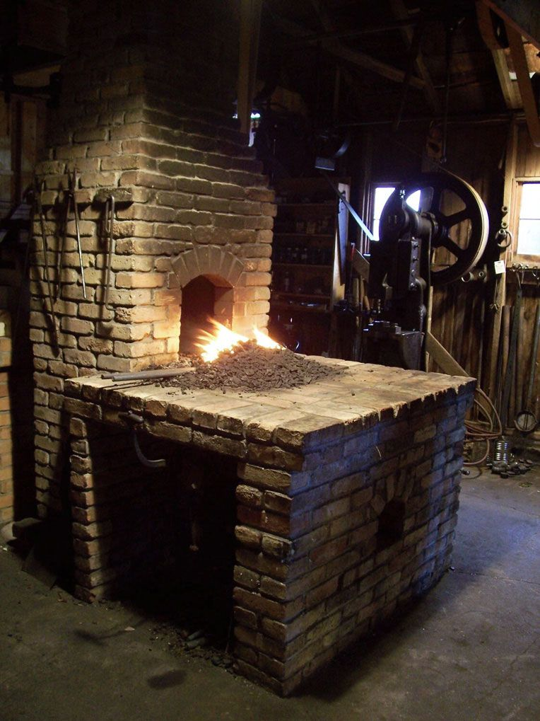 Blacksmith Forge Hoods ~ How nice would this be happiness inspiration