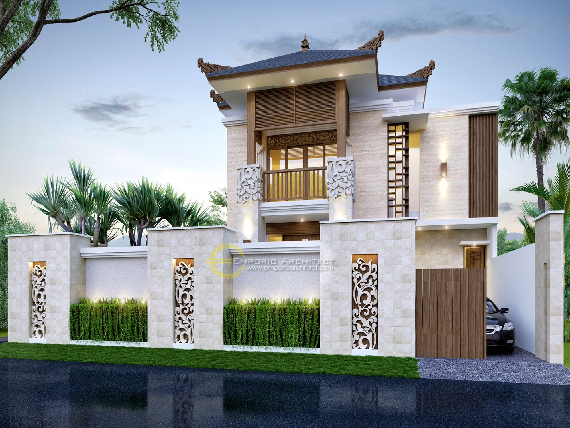 Jasa Arsitek Desain Rumah Ibu Fitri Jakarta Jasa Arsitek Desain Rumah Berkualitas Desain Villa Bali Modern Tropis Profesional Desain Rumah Desain Rumah Batu